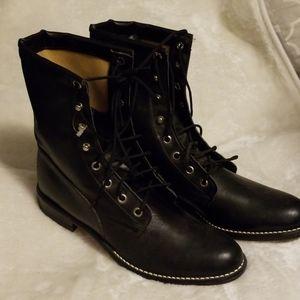 """Bronco Lace Up Boots Appox 8"""" Size 8M"""